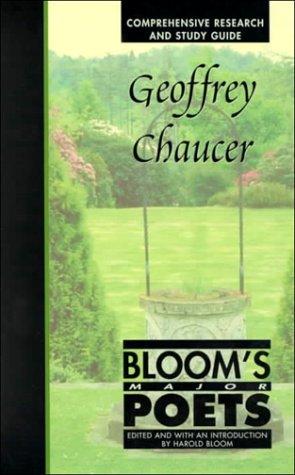 9780791051153: Geoffrey Chaucer (Bloom's Major Poets)
