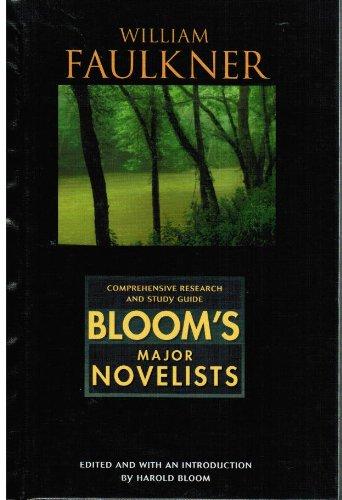 9780791052556: William Faulkner (Bloom's Major Novelists)