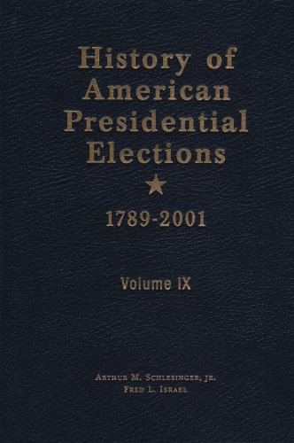 9780791057131: History of American Presidential Election 1789 - 2001 (History of American Presidential Elections, 1789-2001)