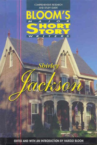 9780791059487: Shirley Jackson (Bloom's Major Short Story Writers)