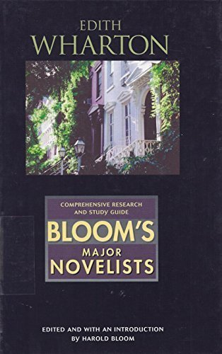 Edith Wharton MN Blooms Major Novelists Editor Harold Bloom