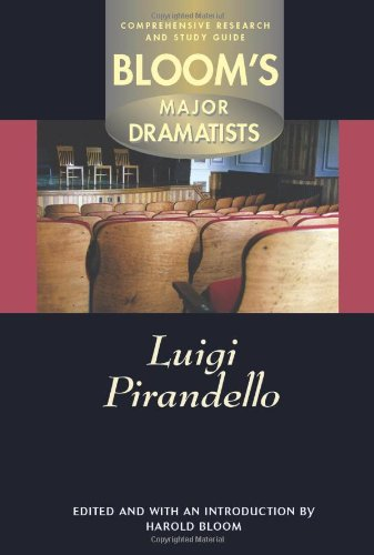 9780791070369: Luigi Pirandello (Bloom's Major Dramatists)