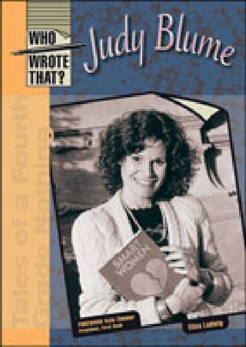 9780791076194: Judy Blume (Who Wrote That?)