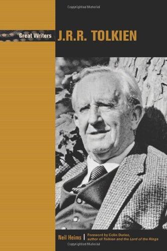 9780791078471: J. R. R. Tolkien (Great Writers)