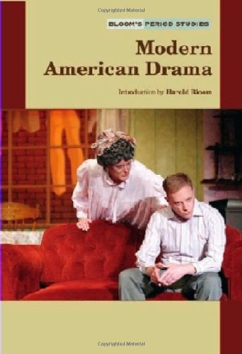 9780791082386: Modern American Drama (Bloom's Period Studies)