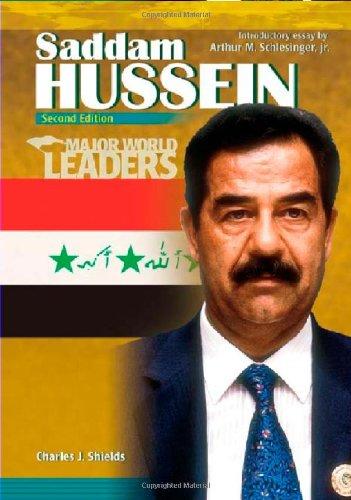 Saddam Hussein (Major World Leaders) (0791085767) by Charles J. Shields; Rachel A. Koestler-Grack