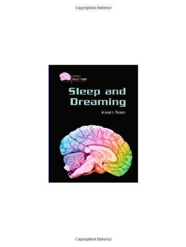 9780791086391: Sleep And Dreaming (Gray Matter)