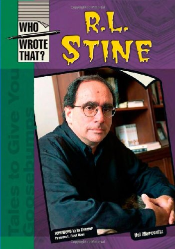 9780791086599: R.L. Stine (Who Wrote That?)