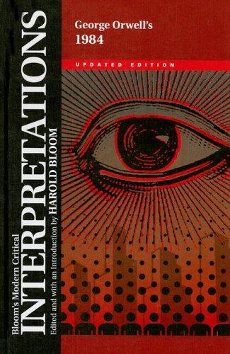 9780791093009: 1984 (Bloom's Modern Critical Interpretations (Hardcover))