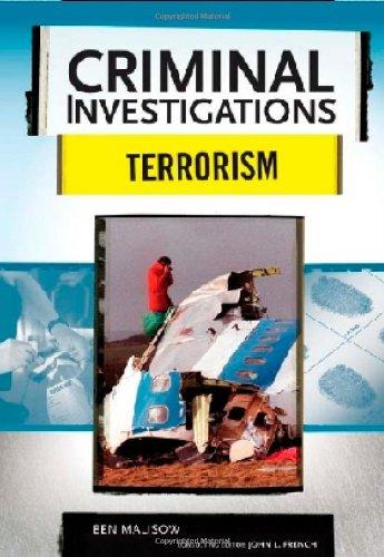 9780791094129: Terrorism (Criminal Investigations)