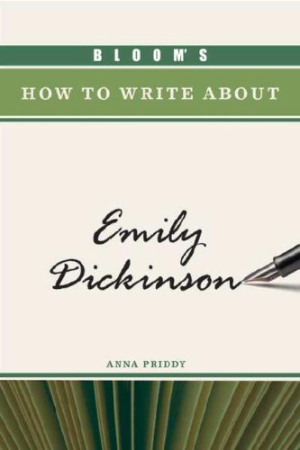 9780791094921: Bloom's How to Write about Emily Dickinson