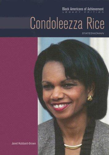 9780791097151: Condoleezza Rice: Stateswoman (Black Americans of Achievement)