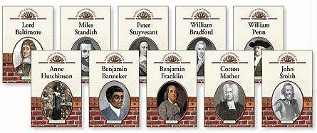 Leaders of the Colonial Era Set, 10-Volume (Hardback): Various