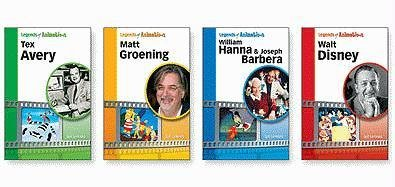 Legends of Animation Set (Hardback): Jeff Lenburg
