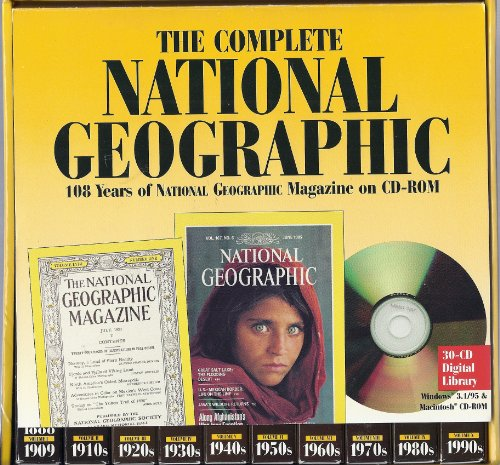 9780791126714: The Complete National Geographic: 108 Years of National Geographic Magazine on Cd-Rom (Version 1.0)