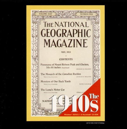 9780791128107: The National Geographic Magazine : The 1910s