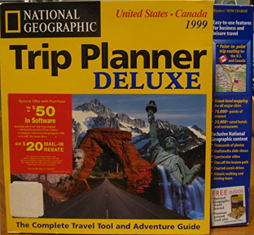 Trip planner deluxe: United States & Canada, 1999 (0791130924) by National Geographic Society (U.S.)