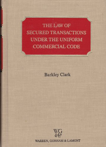 9780791300701: The law of secured transactions under the Uniform commercial code