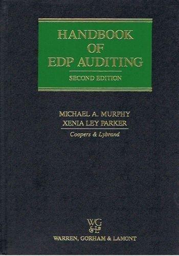 9780791304112: Handbook of EDP Auditing