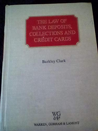9780791304846: The law of bank deposits, collections, and credit cards