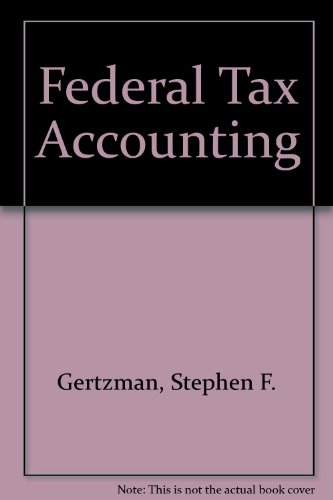 9780791316344: Federal Tax Accounting