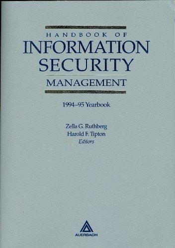 9780791316368: Handbook of Information Security Management