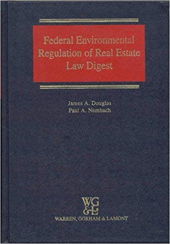 9780791322192: Federal Environmental Regulation of Real Estate Law Digest