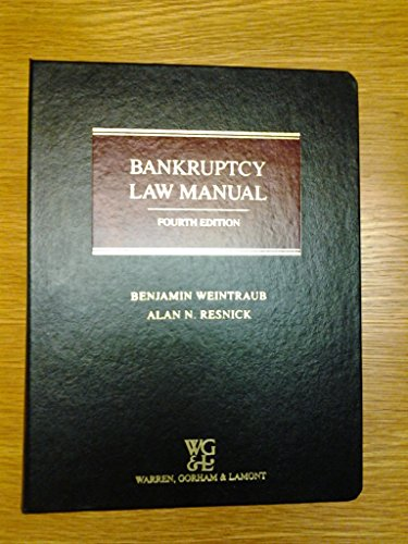 9780791328071: Bankruptcy Law Manual
