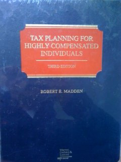 9780791330142: Tax planning for highly compensated individuals