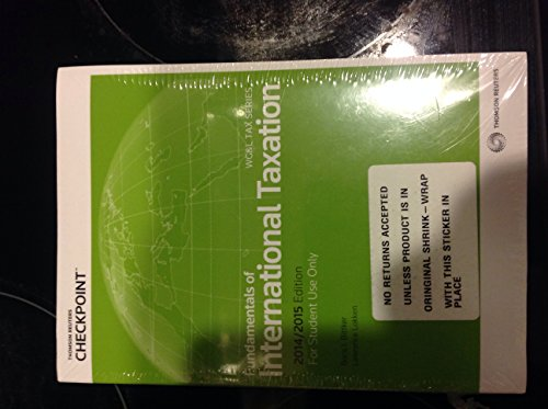 9780791389539: Fundamentals of International Taxation 2014-2015