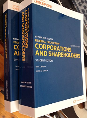9780791389744: Federal Taxation of Corporations and Shareholders Seventh Edition