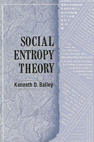 9780791400562: Social Entropy Theory