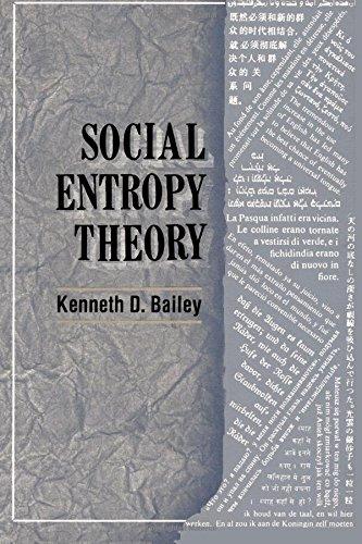 Social Entropy Theory: Bailey, Kenneth D.