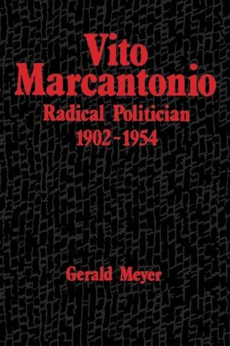 9780791400838: Vito Marcantonio: Radical Poitician 1902-1954 (SUNY Series in American Labor History)