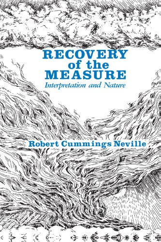 9780791400999: Recovery of the Measure: Interpretation and Nature (Axiology of Thinking, Vol. 2)