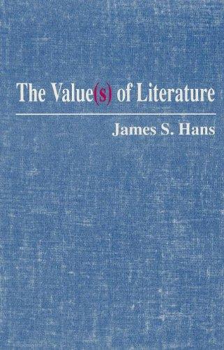 9780791402061: The Value (S OF LITERATURE)