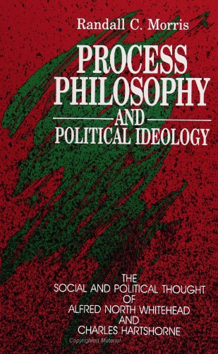 9780791404164: Process Philosophy and Political Ideology: The Social and Political Thought of Alfred North Whitehead and Charles Hartshorne