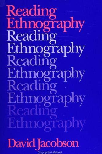 Reading Ethnography: David Jacobson