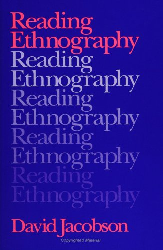 Reading Ethnography: Jacobson, David