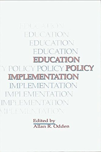 9780791406656: Education Policy Implementation (S U N Y Series, Educational Leadership)