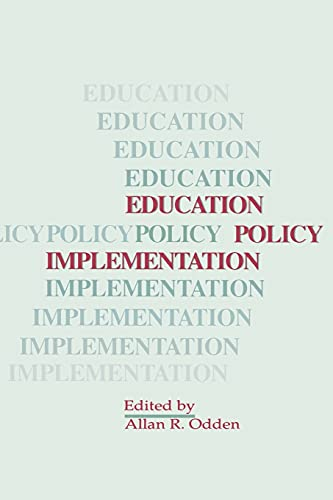 9780791406663: Education Policy Implementation (SUNY Series, Educational Leadership)
