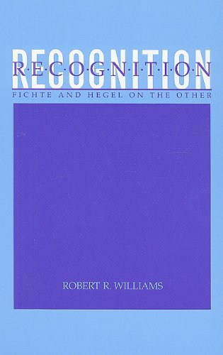 9780791408575: Recognition: Fichte and Hegel on the Other (Suny Series in Hegelian Studies)