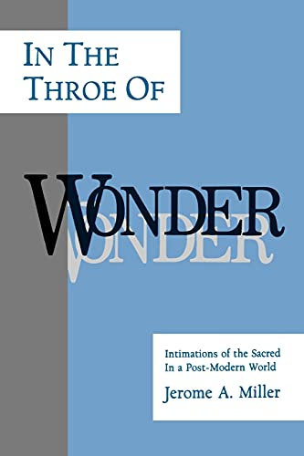 9780791409541: In the Throe of Wonder: Intimations of the Sacred in a Post-Modern World (Philosophy of Art; Suny Series)