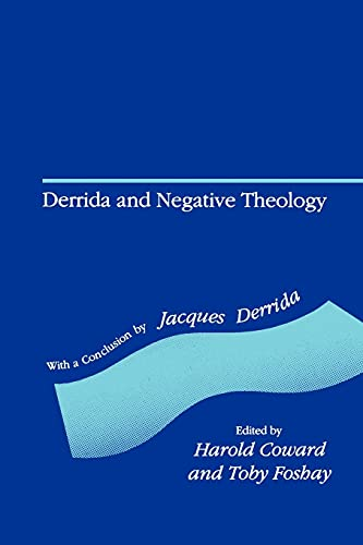 9780791409640: Derrida and Negative Theology
