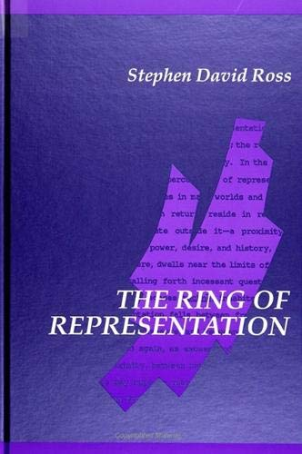 9780791411094: The Ring of Representation (Suny Series in Contemporary Continental Philosophy)