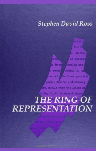 9780791411100: The Ring of Representation (SUNY Series in Contemporary Continental Philosophy)