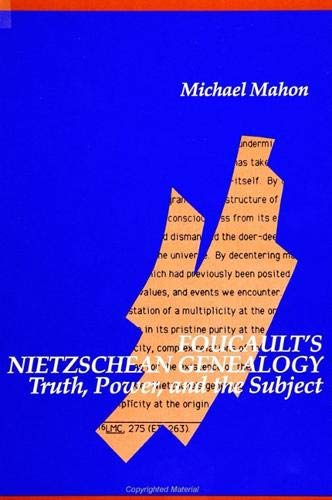 9780791411490: Foucault's Nietzschean Genealogy: Truth, Power, and the Subject (Suny Series in Contemporary Continental Philosophy)
