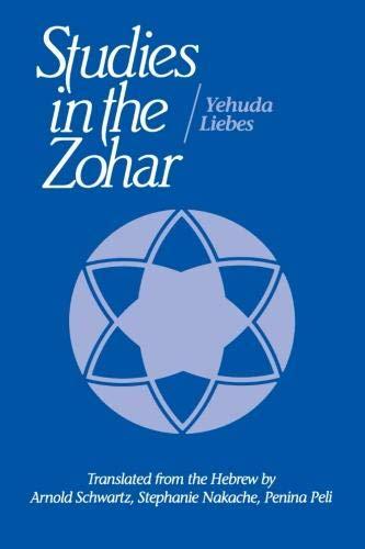 9780791411902: Studies in the Zohar