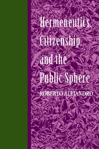 9780791414880: Hermeneutics, Citizenship, and the Public Sphere (Suny Series in Political Theory) (Suny Series in Buddhist Studies)