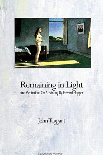 9780791415061: Remaining in Light: Ant Meditations on a Painting by Edward Hopper (Suny Series, the Margins of Literature)